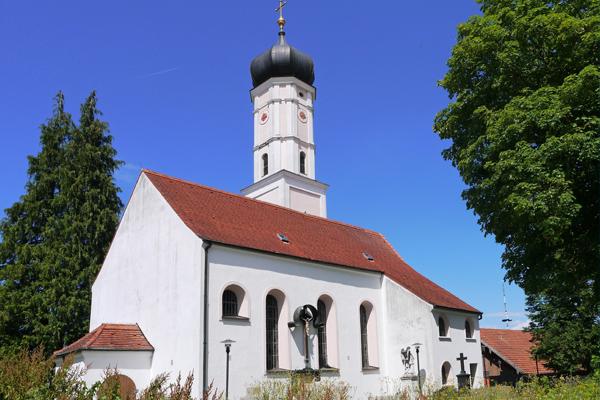 Kirche Hl. Kreuz, Alling