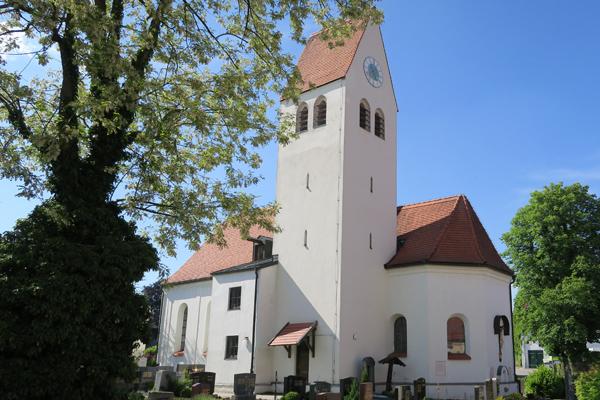 Pfarrkirche Mariä Himmelfahrt und Heiligste Dreifaltigkeit, Biburg