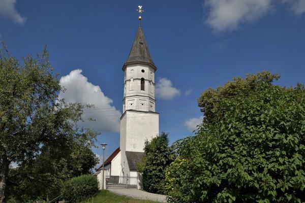 Kirche St. Bartholomäus und Valentin, Überacker